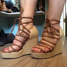 I just discovered this while shopping on Poshmark: /ava & aiden/ platform espadrille wedges. Check it out! Price: $22 Size: 8.5