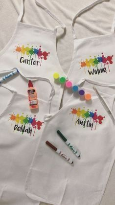 Art Party Favor | Art Birthday Party | Art Party Favors | Art Party Decorations | Paint Party | Art Aprons | Kids Apron | Paint Party Favor