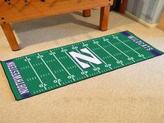 Northwestern University Runner 30x72