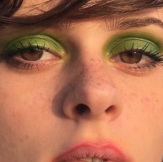 the village 🥒 Makeup Inspo, Green Eyes, Hair Makeup, Hair Beauty, Make Up, Face, Instagram, Party Hairstyles, Makeup