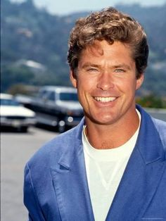 size: Premium Photographic Print: David Hasselhoff by Kevin Winter : Artists Making The First Move, Tv Soap, Baywatch, Young And The Restless, Fine Men, Celebrity Look, Life Magazine, Man Crush, Actresses
