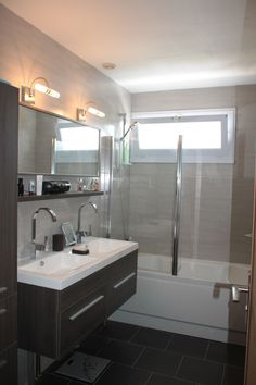 Hudson reed quartet 1440mm vanity unit and double basin high gloss grey van - Vasque petite taille ...