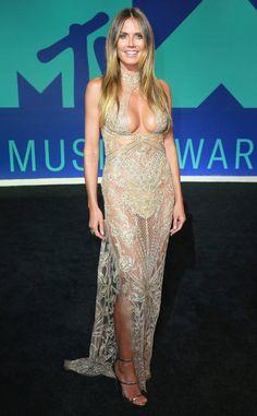 Heidi Klum: MTV Video Music Awards 2017: Red Carpet Arrivals