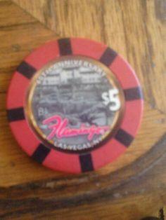 $5 40th aniversery chip from las vegas flamingo.casino