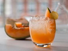 Fresh ginger root is a great way to add some punch to non-alcoholic beverages. Combine it with fresh cantaloupe juice for a refreshing drink. Get the recipe on HGTV.com.
