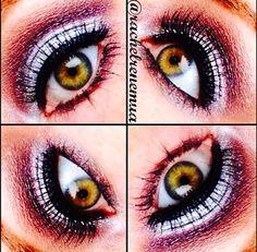 Maquiagem feita pela maquiadora americana @rachelrenemua usando o Jumbo Eye Pencil Milk e o Mechanical Pencil Eye Black
