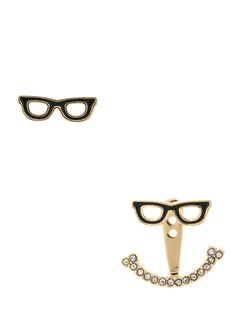 kate spade new york / kate spade earrings goreski glasses ear jackets