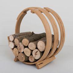 Log Loop Wood Basket, 369€, now featured on Fab.