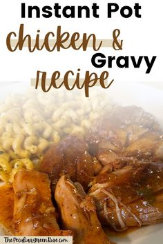 You will love this delicious Instant Pot Chicken Thighs and Gravy Recipe! | Instant Pot Recipes | Easy Instant Pot Recipes | Instant Pot Chicken | Easy Instant Pot Chicken | Instant Pot Chicken Thighs | Easy Instant Pot Chicken Thighs | Instant Pot Recipes for Beginners | Chicken Instant Pot Recipes for Beginners | #instantpot #pressurecooking #instantpotchicken