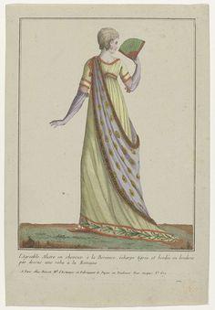 Collection consacrée aux modes d'hommes et de femmes, 1783-1813, No. 102 : L'Agréable Alzire..., Anonymous, Basset, 1783 - 1813