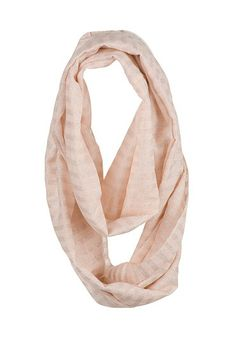 Shimmer Stripe Infinity Scarf (original price, $14) available at #Maurices