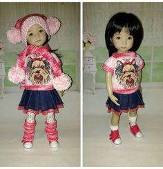 "Наряд для куклы дианна effner little darling 13""   Куклы и мягкие игрушки, Куклы, Одежда и аксессуары   eBay!"