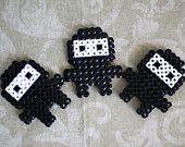 Naughty Ninja Perler Bead Magnet