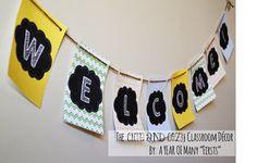 the cute and cozy classroom – editable decor