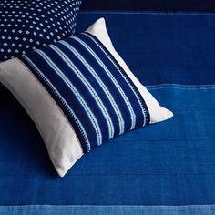 Shades of Indigo Bed Cover