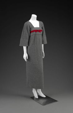 Rudi Gernreich dress ca. 1964 via The Indianapolis Museum of Art   Inspiration from...??