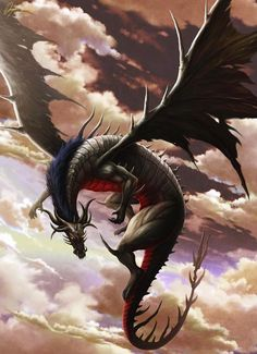 Pictures From My Mind's Eye — More beautiful dragons. What fantasies are made...