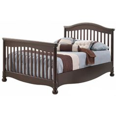 Our Avalon Double Bed takes center stage in any room! A beautiful headboard and footboard, are crafted from solid wood in a slat design. An arching headboard and waving bottom creates a lovely look.