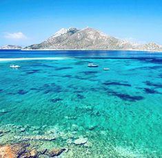 Η ελληνική «Γαλάζια Λίμνη»: Το ακατοίκητο νησί με τις φυσικές πισίνες που «βουλιάζει» από κόσμο (Pics) Mount Rainier, Greece, Mountains, Country, Nature, Travel, Greece Country, Viajes, Rural Area