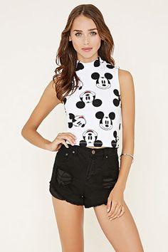 Mickey Crop Top