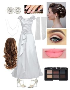 """""""The perfect bride"""" by natalie-sanchez-i on Polyvore featuring Betsey Johnson and NARS Cosmetics"""