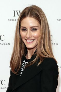Olivia Palermo Has Exactly 6 Hair Highlights Total.