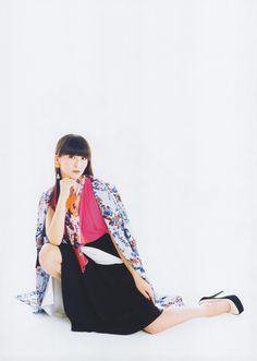 Perfume かしゆか Versace Perfume, Japanese Girl Group, Music People, Kimono Top, Beautiful, Collection, Artist, Girls, Women
