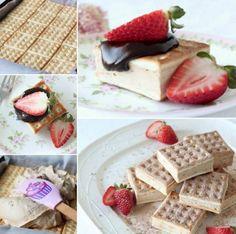 No Bake Toblerone Lattice Slice Sweet Recipes, Cake Recipes, Toblerone, Different Recipes, Ministry, Food To Make, Nom Nom, Main Dishes, Biscuits
