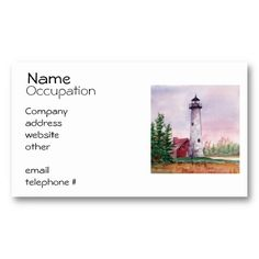 Tawas Point Lighthouse Business Cards http://www.zazzle.com/tawas_point_lighthouse_business_cards-240135195741684827