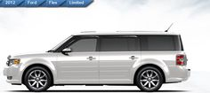 picture of Frod Flex with vent visors | ... to show accessories for the latest model of the ford flex contact