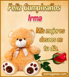 Feliz Cumpleaños Irma