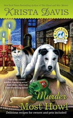 MURDER MOST HOWL (PAWS AND CLAWS MYSTERY #3) BY KRISTA DAVIS: BOOK REVIEW |