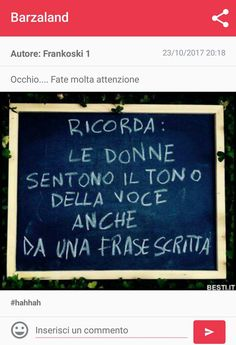 A volte sono una donna Italian Phrases, Wallpaper Quotes, Letter Board, Tumblr, Haha, Sayings, Funny, Life, Ideas
