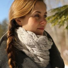 Check out Swans Island Snowdrift Cowl PDF at WEBS | Yarn.com.