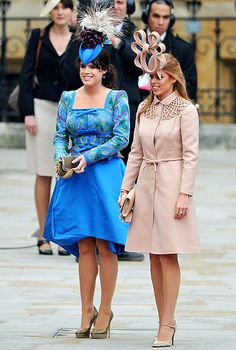 Royal Family Tree: A Guide to Queen Elizabeth II's Kids and Grandkids----Princesses Beatrice and Eugenie of York---The Duke and Duchess of York had two daughters during their 10-year marriage: Princess Beatrice, born Aug. 8, 1988, (6th in line of throne), and Princess Eugenie, born March 23, 1990, (7th in line of throne).