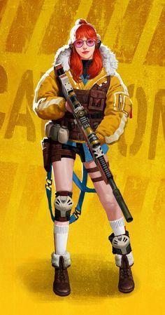 ArtStation - Sniper, Jieun Kim