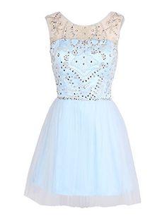 Dresstells Short Tulle Dress with Beadings Homecoming Dress for Juniors, http://www.amazon.com/dp/B00N2NS89W/ref=cm_sw_r_pi_awdm_aSD1vb02G5JJN