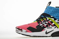 best sneakers 6f3ce b802f acronym nike air presto mid 2018 cotton candy pink blue ah7832-600 - www.