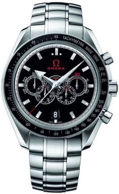 Men's Wrist Watches - Omega SpeedmasterOlympic Collection Mens Watch 32130445201001 * Check this awesome product by going to the link at the image. (This is an Amazon affiliate link)