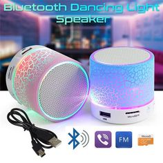 Altoparlanti Bluetooth portatili a colonna Mini altoparlanti a LED Bluetooth  A9 Altoparlanti audio stereo a focale f0121da941fa