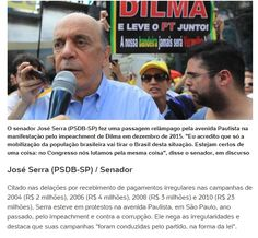 Executivo da Odebrecht aponta R$ 4,67 milhões a José Serra (PSDB/SP)