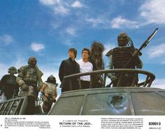 """Just put some original 1983 """"RETURN OF THE JEDI"""" lobby cards in my Ebay Store. They all measure 8x10 and are in NM to MINT condition. This is Card #6."""
