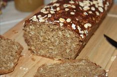 Irish bread with yogurt and oatmeal (without yeast - . Pain irlandais au yaourt et flocons d'avoine (sans levure - Irish bread with yoghurt and oatmeal (without yeast - Gluten Free Pizza, Lactose Free, Vegan Breakfast, Breakfast Recipes, Irish Bread, Pizza Pastry, Cake Factory, Chez Vanda, Banana Bread