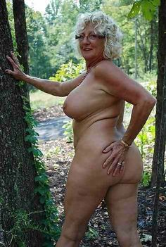 Think, old woman naturist speaking, opinion