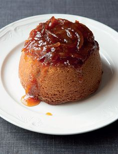 Steamed Marmalade Sponge and Whisky Custard from Justin Gellalty's Bread, Cake, Doughnut, Pudding. Just the right dessert for the winter months.
