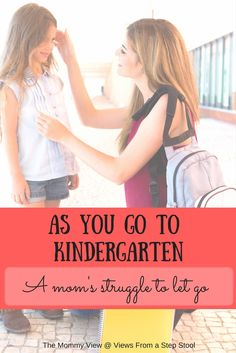 My son will go to Kindergarten, and I feel like a part of me is leaving with…