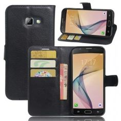 Flip Magnetic Card Wallet Pu Leather Case Cover For Samsung Galaxy On 5 2016 Leather Case, Leather Wallet, Pu Leather, Galaxy A5, Samsung Galaxy, J7 Prime Case, Waterproof Phone Case, Amazon Electronics, Card Wallet