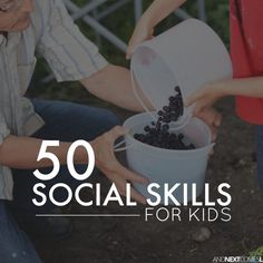List of social skills to teach your kids