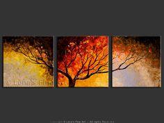 """Night Watch"" - Original Landscape Art by Lena Karpinsky, http://www.artbylena.com/original-painting/20149/night-watch.html"