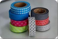 many washi tape